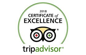 Della Adventure -TripAdvisor Certificate of Excellence