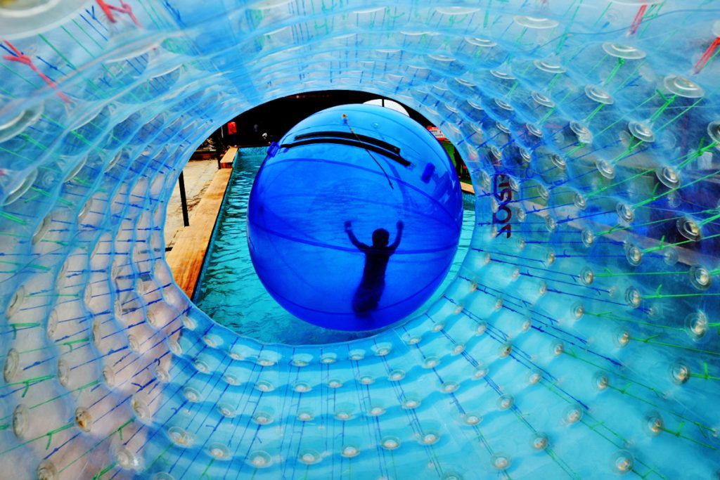 the ultimate zorbing destination della adventure blog