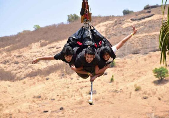 Your most favorite Adventure Sports available at one place –Della