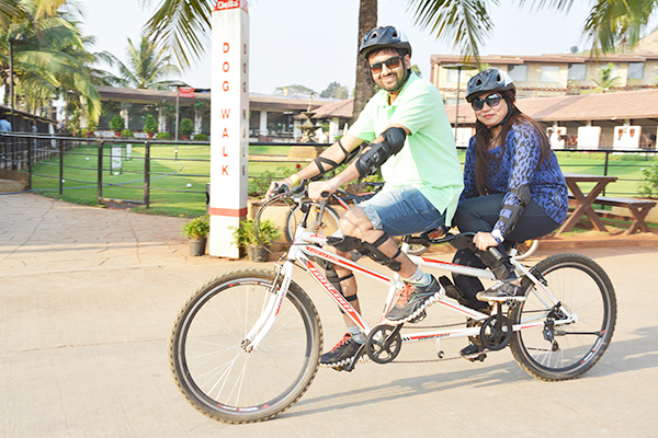 double-seater-tandem-cycle